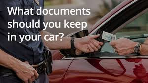 Do You Have The Right Documents In Your Car?