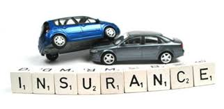 image shows 2 cars in pic with lettering that spells out insurance