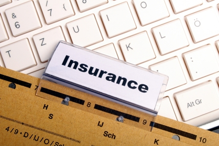 image shows file that reads Insurance