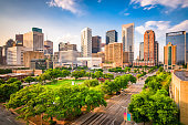 image depicts the city of texas