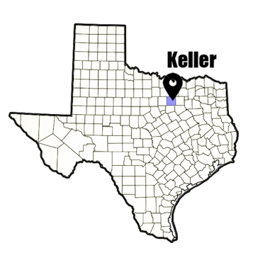 Keller.TX.city map