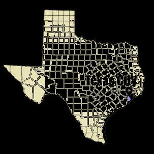 Texas City, Texas city map