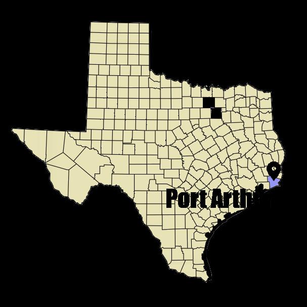 Port Arthur, TX cheapest auto insurance [city map]